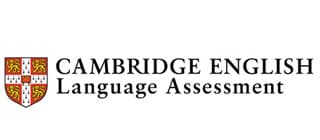 Logo de Cambrige English Language Assessment